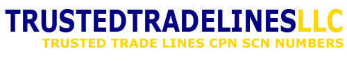 Buy or Sell Tradelines | CPN SCN Numbers